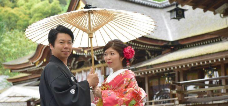 大神神社で結婚式と食事会