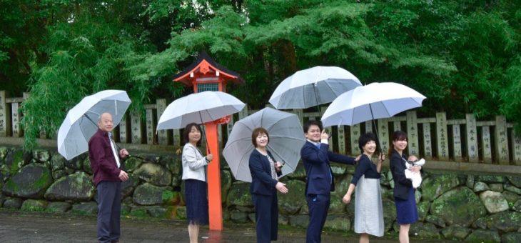 枚岡神社お宮参り写真
