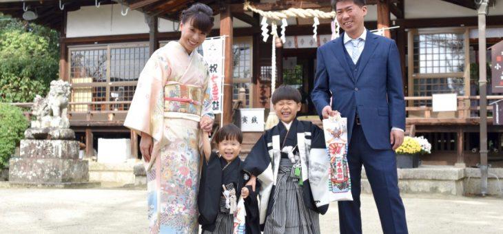 小泉神社で走り回る七五三は写真10枚でチェック