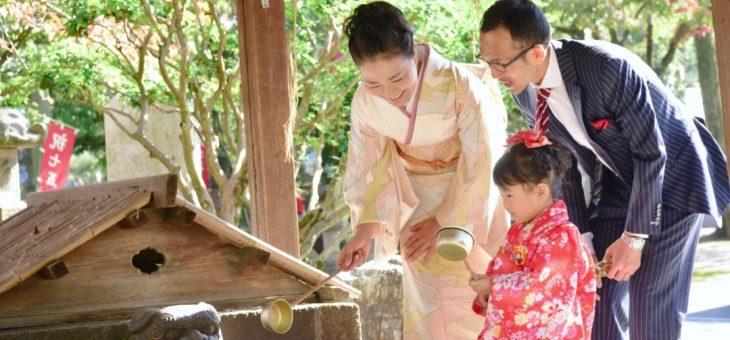 立木神社で七五三