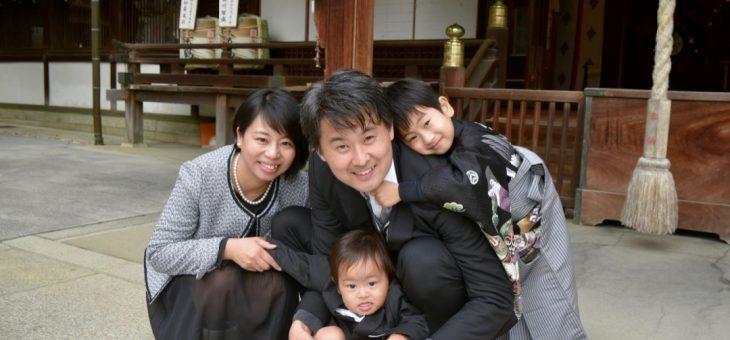 芦屋神社の七五三を可愛い男の子の写真20枚でチェック
