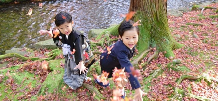 上賀茂神社で七五三