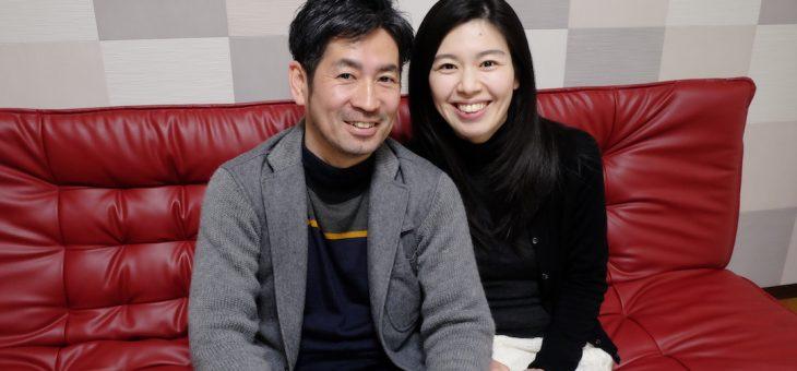 大神神社で結婚式の打ち合わせの二人は新婚ほやほや(2019.2.11)
