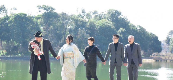 橿原神宮のお宮参りはオシャレな両親がバッチリな写真17枚でチェック