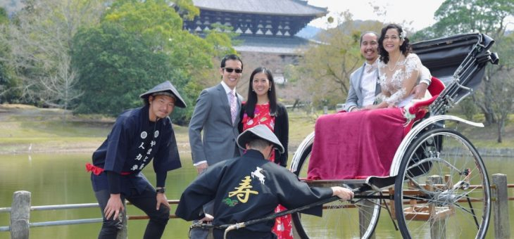 奈良で結婚式(2019.3.29)