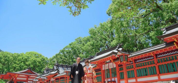 熊野速玉大社の結婚式は快晴の青空に幸せを描く!写真9枚で紹介
