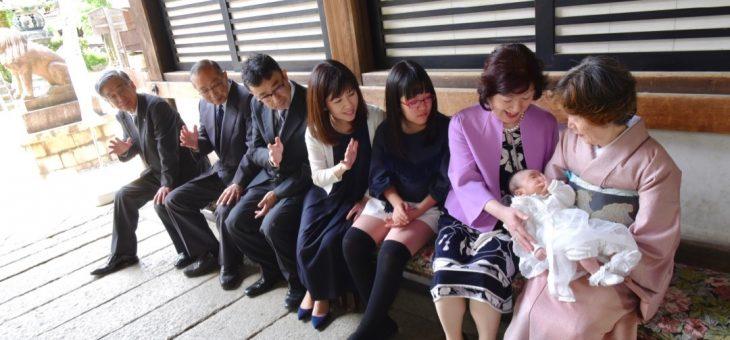 御香宮神社お宮参り(2019.5.6)