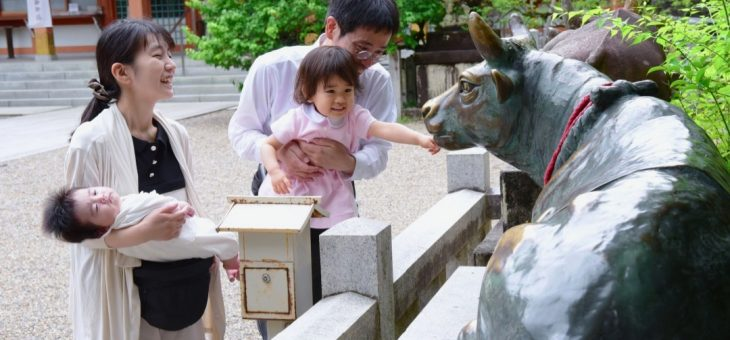 長岡天満宮のお宮参りは家族の穏やかな記念日!写真11枚で紹介